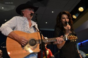 "Nicki Gillis and I performing ""Jackson"""